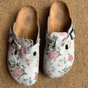 [Papillio by birkenstock]• floral mule clogs